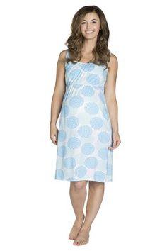 Eden Maternity & Nursing Sleeveless Nightgown