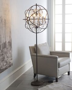 """""""Gyro"""" Floor Lamp at Horchow."""
