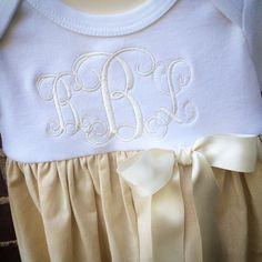 Fancy font. Linen. Silk ribbon. Beautiful.
