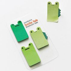 Animal Bookmark Tabs - Frogs