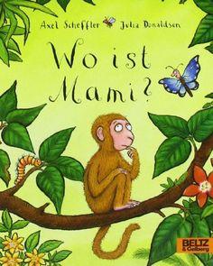 Wo ist Mami?: Vierfarbiges Pappbilderbuch von Axel Scheffler http://www.amazon.de/dp/3407793510/ref=cm_sw_r_pi_dp_xVPvub0B686VM