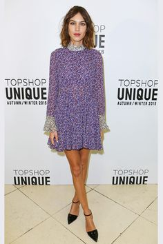 London Fashion Week front rows - Alexa Chung - click through for the full gallery