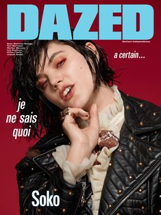 Soko for Dazed's Autumn 2016 Issue.   Photography Roe Ethridge, Fashion Robbie Spencer.  All clothes Gucci.