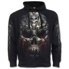 Death Bones Hoody https://www.highvoltageclothing.com