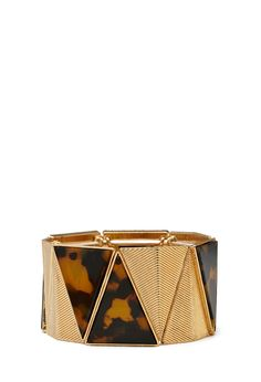 Angular Tiger Eye Bracelet