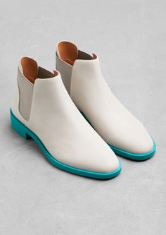 & Other Stories   Chelsea Leather Boots