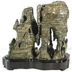 Chinese Scholar Stone | Qixia Chinese Scholars Rock Viewing Stone