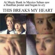 I feel really awful when I think about how much Exo is falling apart, SM needs to stop treating them like robots :-(