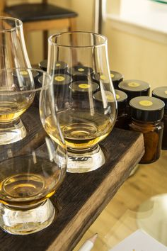 Serve neat whisky in a Glencairn glass. | This Is How You Should Actually Be Drinking Whisky
