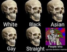 "16 Spoopy Skeleton Memes To Inject A Little Calcium In Your Life - Funny memes that ""GET IT"" and want you to too. Get the latest funniest memes and keep up what is going on in the meme-o-sphere. Halloween Meme, Spooky Memes, Spooky Scary, Spoopy Skeleton, Spooktober Memes, Funny Images, Funny Pictures, Funny Pics, Insta Memes"