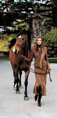 "Ralph Lauren  ""English Country Lady"" How to dress when I'm up the yard!!!"