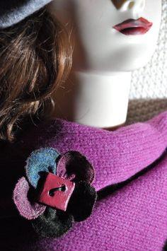 leather tweed scarf hat coat cardigan pin jade pink duck egg wool brooch 10 cm s Wool Cape, Scarf Hat, Women's Accessories, Tweed, Jade, Egg, Chokers, Brooch, Coat