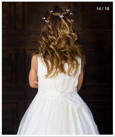 Hair! Girls Dresses, Flower Girl Dresses, Wedding Dresses, Photos, Hair, Fashion, Dresses Of Girls, Bride Dresses, Moda