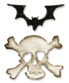 Look at this #zulilyfind! Mini Bat & Skull Magnetic Movers & Shapers Die Set #zulilyfinds