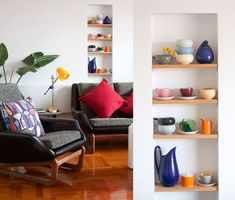 Colorful ceramics to brighten up a room