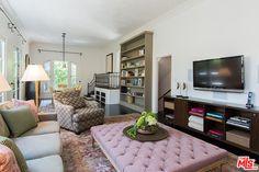 LOVE the bookshelf in the living room - Inside Ginnifer Goodwin's Charming Hollywood Villa - Photos