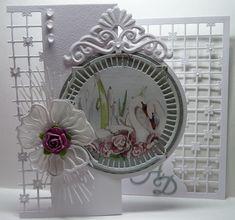 Marianne Design, Decorative Plates, Card Making, Joy, Handmade Cards, Big Shot, How To Make, Crafts, Grid