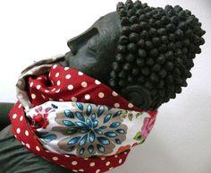 Schlauchschal oder Loopschal    * aus 4 süßen Baumwollstoffen gefertigt   * als Schlauch genäht  * er lässt sich auf verschiedene Farbvarianten tra...