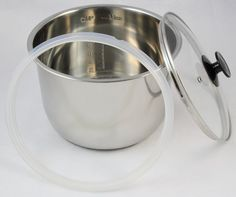 InstantPot Accessory Package (6Qt Stainless Steel Inner Pot, Glass Lid and…