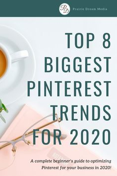 Ready to start your new year off right? Get your Pinterest marketing strategy in order by considering some of these new Pinterest Trends. Pinterest is constantly evolving and adding new features to its platform everyday. That is why it's vital to stay on top of the current Trends. Start learning the new trends now by clicking on this pin. // Prairie Dream Media -- #Pinterest #2020trends #2020socialmediatrends #socialmediatrends Creative Business, Business Tips, Craft Show Booths, Trending Hashtags, Social Media Trends, Blog Names, Pinterest For Business, Small Business Marketing, Business Entrepreneur