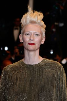Tilda Swinton - 'Only Lovers Left Alive' Premiere - The 66th Annual Cannes Film Festival