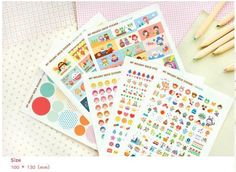 Diary stickers  everyday life by MadAboutPink on Etsy, €3.00
