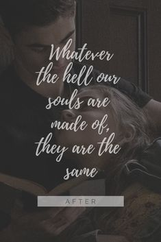 After - Hessa - - Hero Wallpaper, Wallpaper Quotes, Words Quotes, Life Quotes, Sayings, Crush Movie, Before Trilogy, Besties Quotes, Movie Wallpapers
