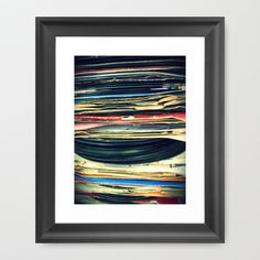 put your records on Framed Art Print by Bianca Green - $35.00