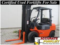 A #Used #Forklift for the purpose is the best solution you can come up with. You have to make some #extra efforts in #finding out a well preserved and engine wise fit used forklift for sale in #Atlanta. As there is no #comparison in owning a forklift and hiring a forklift. @ http://accurateforklift.net/
