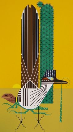 Tall Tail ....Charley Harper