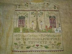 Mystery sampler by Little House