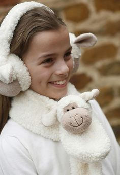 Jomanda Woolly Sheep Scarf Kids Designer Baby Boutique - Dandy Lions Boutique #scarf #sheep