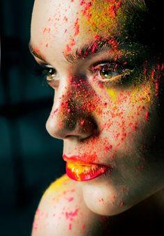 Photographer:  Javiera Eyzaguirre Make Up:  Taly Waisberg   #fashion #makeup #styling