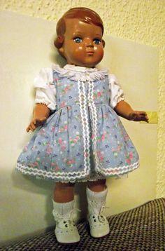 Puppe Inge von Schildkröt 34 cm neu