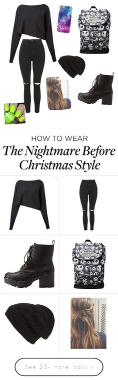 """bad girl "" by lilocean on Polyvore featuring Crea Concept, Topshop, Charlotte Russe and Phase 3"