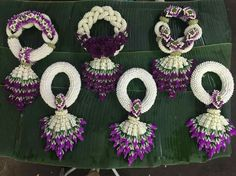 Mehndi Flower Garlands : Jasmine garland flower for wedding