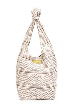 A beautifully designed go-to bag, from TOMS Marketplace is perfect for transporting your everyday items in style.
