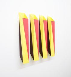 Rana Begum's Shifting Perspective Geometric Sculptures.