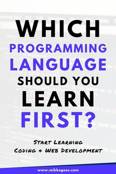 These practical steps help you find the perfect first programming language more easily to save time and money and to learn coding faster. Learn Computer Science, Computer Coding, Computer Literacy, Kids Computer, Coding Languages, Programming Languages, Languages Online, Learn Programming, Computer Programming