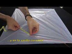 Cómo hacer una cometa que vuela - YouTube