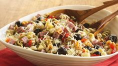 Prize-Winning Recipe 2009! A touch of Italy is  easy with this ready-in-30-minutes pasta salad.