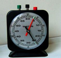 Vtg Smiths ECS Darkroom Timer Clock. Lab, Chess Barista photography stop watch