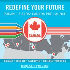 Rodan + Fields is Going GLOBAL! Rodan + Fields® was founded in 2002 by renowned dermatologists Dr. Katie Rodan and Dr. Rodan And Fields Canada, My Rodan And Fields, Rodan And Fields Business, Business Launch, Corporate Business, Executive Consultant, Independent Consultant, Rodan And Fields Consultant