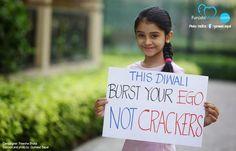 This Diwali lets go GREEN ~ fuNJABi MuNDA