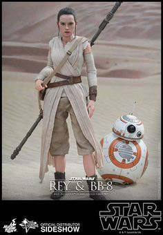 CRI Presents Rey and BB-8 Sixth Scale Figure Set by Hot Toys