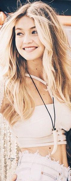 #Gigi #Hadid | Inspiration for #editorial #fashion #photographer #Drew #Denny #model #style #beauty #runway #victoria #secret #sportsillustrated #SIswim #pink #swimsuit #lingerie