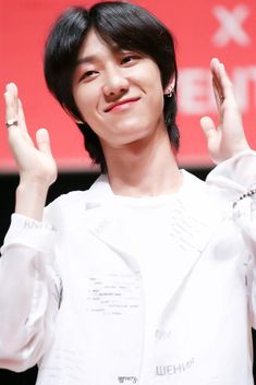 180529 The Saen Fansign in Japan #minghao #myungho #the8 #seventeen
