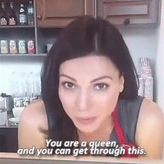 Words of wisdom from Lana Parrilla