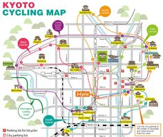 Tourist Sites In Kyoto Rankings With Lots Of Pictures Based On - Tokyo map for tourists