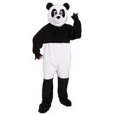 Panda Mascot Costume One Size Fits Most, Adult Unisex, White